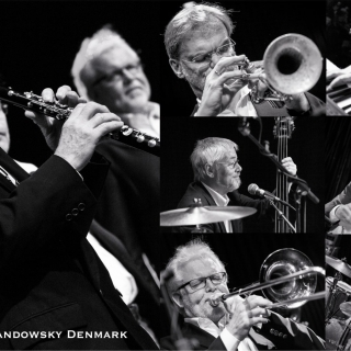 Jazz-Frühschoppen mit der Swinging Feetwarmers Jazzband (Kiel)