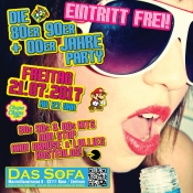 Die 80er 90er + 00er Jahre Party - Eintritt FREI!!!