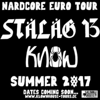 NARDCORE SUMMER TOUR 2017 feat. STALAG 13 + KNOW ( former members of DR KNOW)