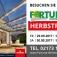 Herbstfest 2017 im Rheinland mit Planungstagen für Wintergärten Terrassendächer und vieles mehr