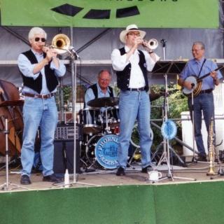 Phoenix  Jazzband  bei den 7. Glinder Jazztagen