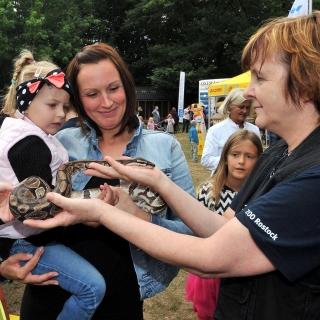 Großes Zoofest Rostock