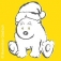 Frohe Weihnachten, kleiner Eisbär