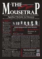 "The Keller Theatre presents ""The Mousetrap"""