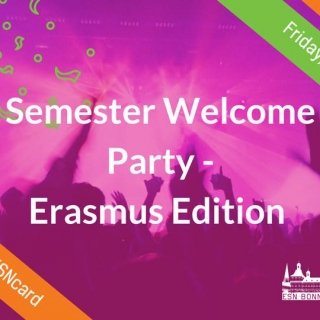 Erasmus - Welcome Party