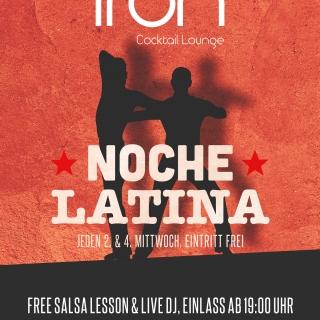 Noche Latina mit Free Salsa Kurs und live DJ