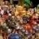 Überdachter Flohmarkt