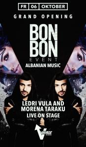 Club Virage // BonBon Ledri Vula / Morena Taraku - live on stage - // 06.10.17
