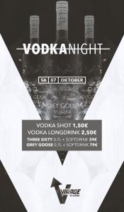 Club Virage // Vodka Night // 07.10.17