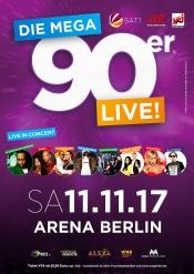 Die Mega 90er Live! - Berlin