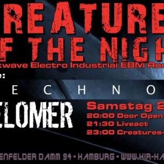 Technoir & Telomer Live - Danach Creatures Of The Night