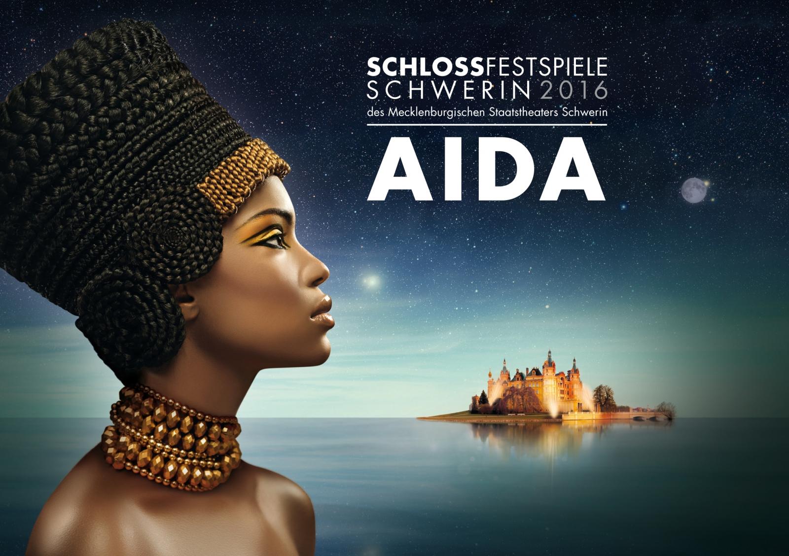 Schlossfestspiele Schwerin  2016: Aida