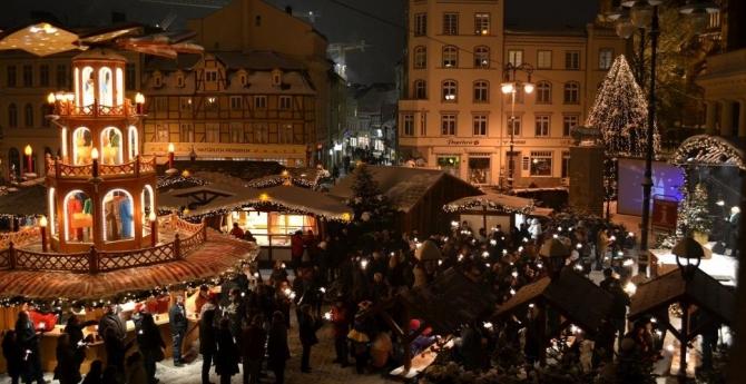 Weihnachtsmarkt in Schwerin