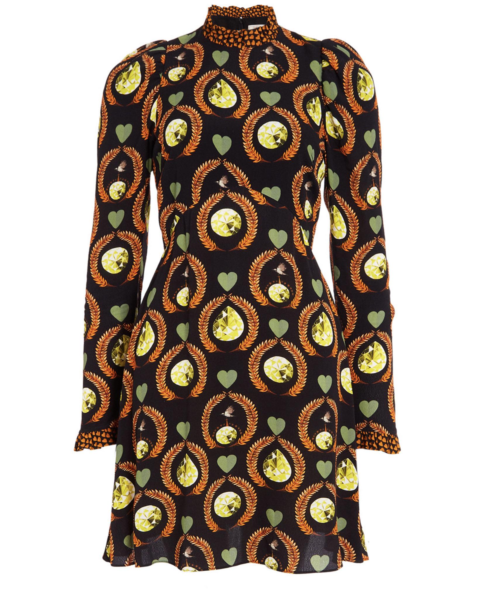 Temperley Rosella Mini Dress Black