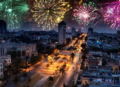 Head to Havana for New Year's Eve