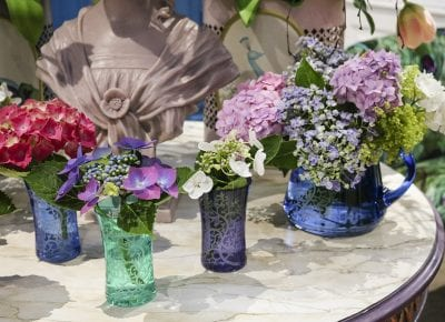 Rachel Bates adds crystalware to her Corali collection