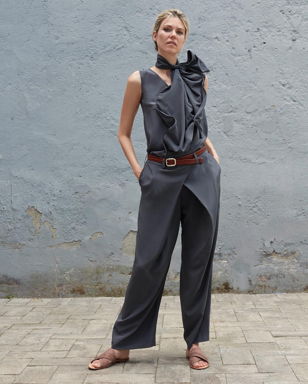 Bav Tailor wearing Prana Trousers