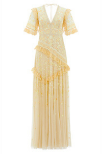 EARTH GARDEN LACE GOWN