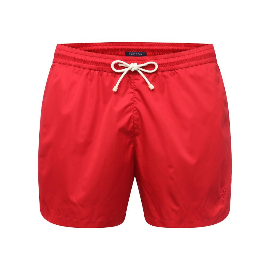KAMPOS_Swim Shorts Red Coral
