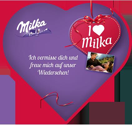 I love Milka 165g