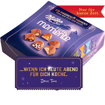 MILKA ZARTE MOMENTE MIX – MAGIC EDITION