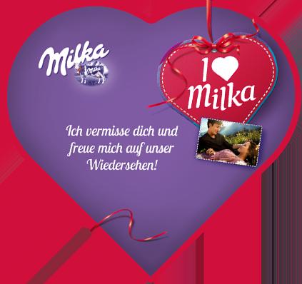 I love Milka 187g