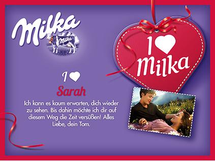 I love Milka 110g