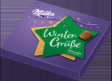 """Weihnachtspralinen """"Winter-Grüße"""""""