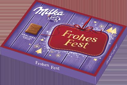 """Weihnachtspralinen """"Frohes Fest"""""""
