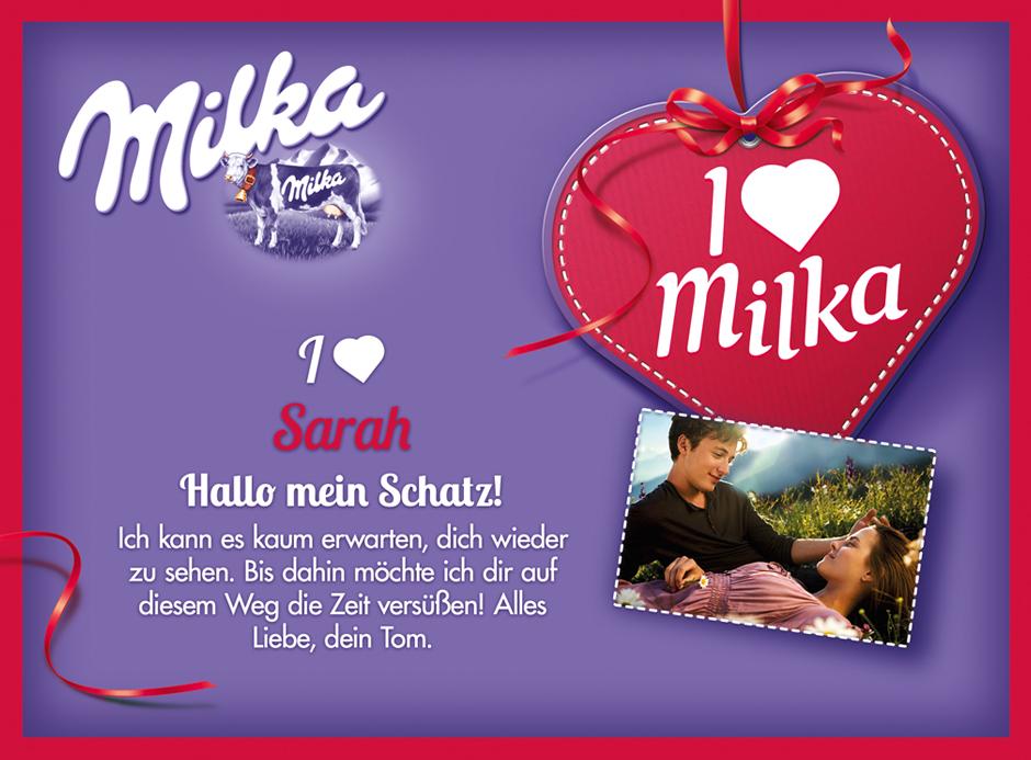 Milka Pralines Shop - Home Page