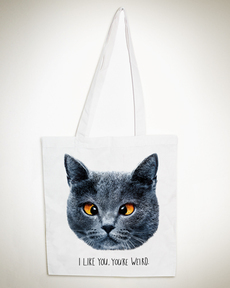 Weird Cat Tote