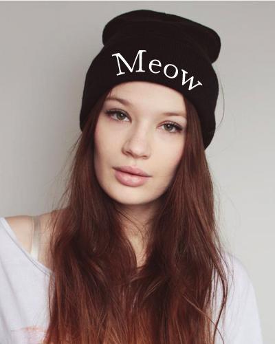 Meow Mütze