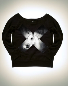 Unicorn Cross Sweatshirt