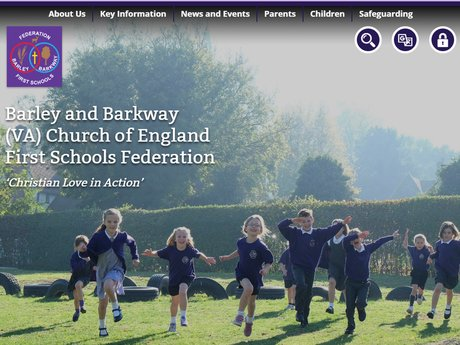 Website Design For Barley and Barkway (VA) Church of England First Schools Federation