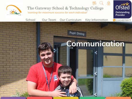 Website Design For The Gateway School & Technology College