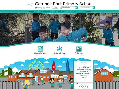 Gorringe Park Primary School Website Design