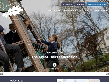 Website Design For The Great Oaks Federation