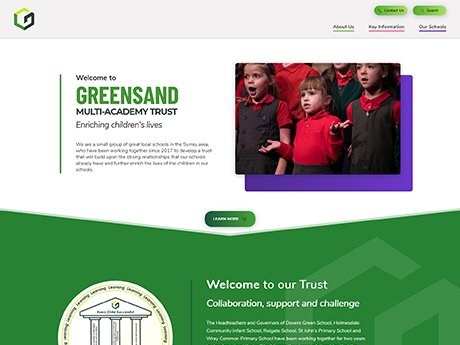 Website Design For Greensand Multi-Academy Trust