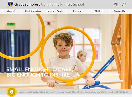 Home   Great Sampford Community Primary School.png