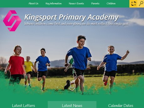 Kingsport Primary Academy Website Design