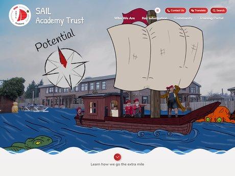 SAIL Academy Trust Website Design