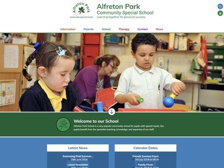 Website Design for Alfreton Park