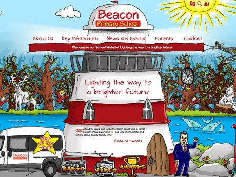 New Website Designed For Beacon Primary School