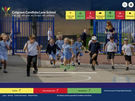 Cotgrave Candleby Lane School Website Design