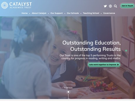 Website Design For Catalyst Academies Trust