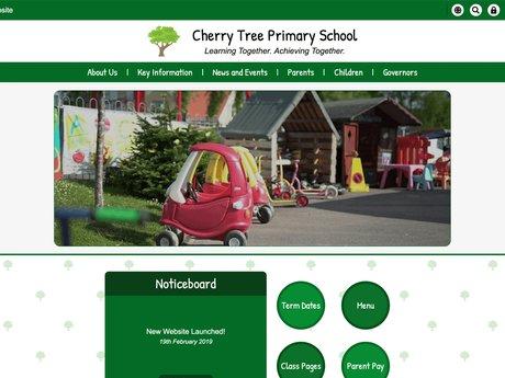 New Website Design For Cherry Tree Primary School