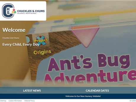 Website Design For Chuckles and Chumps