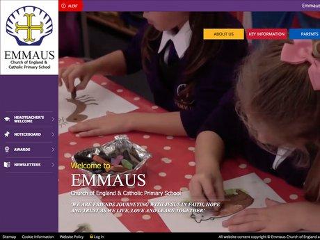 Emmaus Church of England and Catholic Primary School Website Design