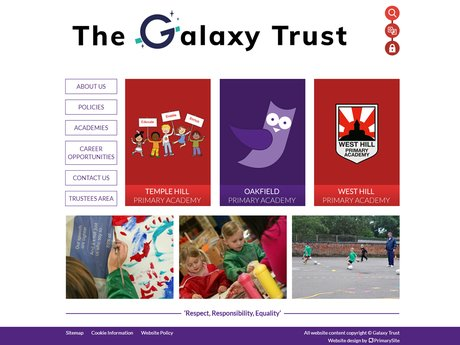 New Website Designed For Galaxy Trust