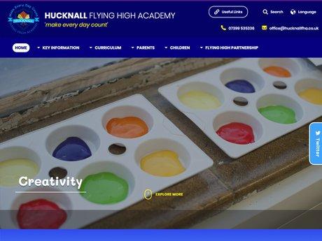 New Website Designed For Hucknall Flying High Academy